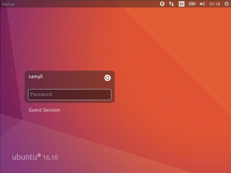 Install Ubuntu 16.10 Desktop